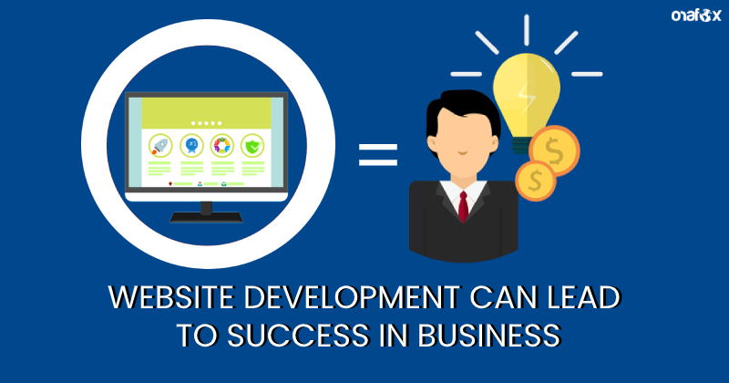 Website development can lead to success in business